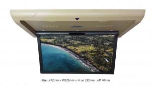 차량용 17.3인치 접이식 TV